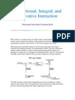 Control pid para un sistema automatizado