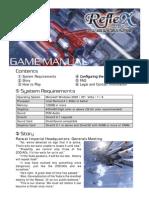 RefleX Manual