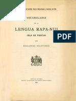 Vocabulario Rapa-nui