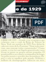 A Crise de 1929- Bernard Gazier