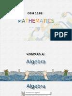 Unit 1 Algebra