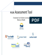 Risk Assessment Tool Manual