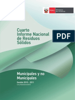 4to Informe Residuos Solidos