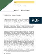 Hill-Scanlon on Moral Dimensions