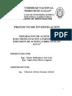 Plan Electroflotacion