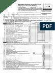 Form 990 Tax Exempt Organization