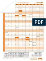Calendario 2015 16 Provas Exames