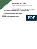 Objetos y Estructuras