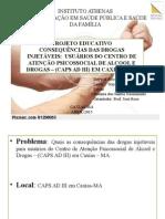 Slides Projeto Drogas Injetaveis