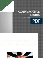 Clasificación de Lideres