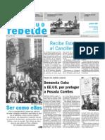 Revista juventud rebelde