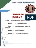 Seguridad de Redes y Comunicaciones Avance 01