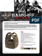 Banshee Plate Carrier - LAPD Approved Info