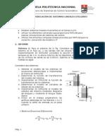 Modelado de sistemas Mecánicos, Fluidifico y Eléctricos