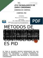 Métodos de Sintonización Para Controladores Pid