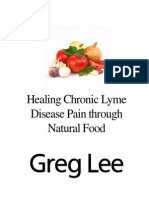 Natural Food for Lyme, Greg Lee
