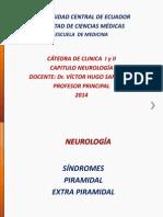 NEUROLOGÍA Sindromes Piramidal y Extrapiramidal