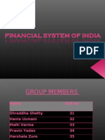 Financial System of India(Ma)