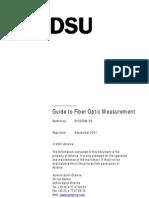 Guide to Fiber Optic Measurements
