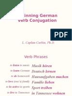German - Verb Conjugation - II