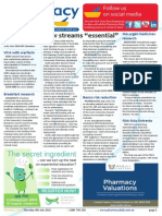 Pharmacy Daily for Thu 09 Jul 2015 - New income streams 'essential', Kelly Pharmacy Board chair, Benzo risk reduction, Travel Specials and much more