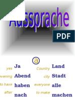 German - Pronunciation