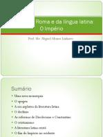 História de Roma e da língua latina - O Império