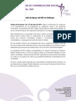 23-07-2011 Instalan nuevo Comité de Apoyo del DIF en Chiltoyac. C025