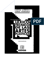 Lexico Tecnico de Las Artes Plasticas - Crespi Irene