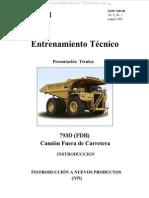 Manual Camion Minero 793D-FDB Operacion Componentes Sistemas Flujos Funcionamiento