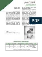 Freidoras a Presion-PFE500