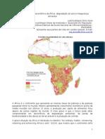 O crescimento demoeconômico da África, degradação do solo e insegurança alimentar