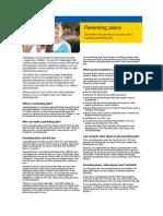 2010-Parenting Plan Flyer AU