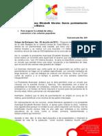 25-07-2011 Supervisa alcaldesa Elízabeth Morales García pavimentación en Lomas de Casa Blanca. C431