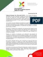 25-07-2011 Se realizarán obras por más 15 millones de pesos  en la zona metropolitana de Xalapa. C430
