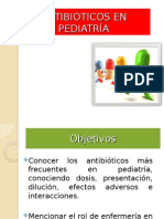 Antibioticos en Pediatría