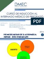 05- Hemorragias de La Primera Mitad Del Embarazo- Aborto