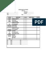 Anexo 09 Inspeccion Diaria Check List