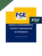 Manual de Procedimiento Control y Organizacion de Expedientes Corregido Con Observaciones