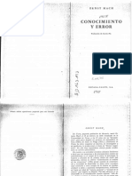 Mach Ernst - Conocimiento Y Error - copia.PDF