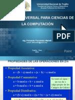 Algebra universal para ciencias de la computación