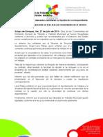 27-07-2011 Comando Femenil de Tránsito también fue liquidado conforme derecho.