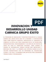 Resumen Ejecutivo Plan de innovacion Carnica Grupo Exito