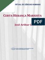 Certa Heranca Marxista - J.a. Giannotti