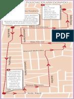 Persecución policial en Maldonado