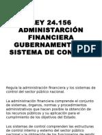 Resumen Ley 24156 contabilidad publica