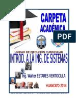 MODELO CARPETA ACADEMICA . INGENIERIA DE SISTEMAS.doc