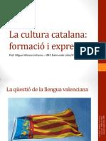 La qüestió de la llengua valenciana