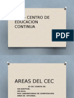 Cec – Centro de Educacion Continua