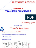 Chapter 4 - Transfer Functions
